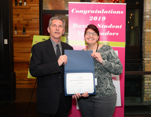 Winner Camila Beluco Southern Alberta Institute of Technology Travel and Tourism