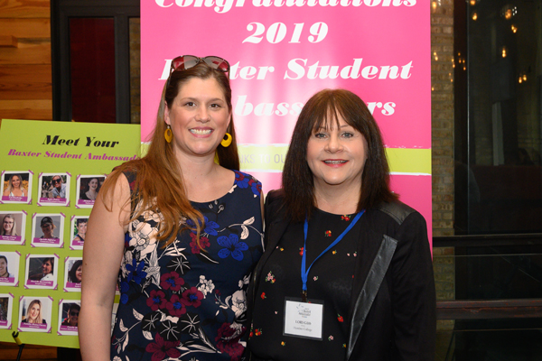 Winner Lori Gibb, Baxter Ambassador, Humber College
